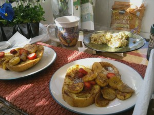 frenchplan 300x225   Strawberry and Plantain French Toast