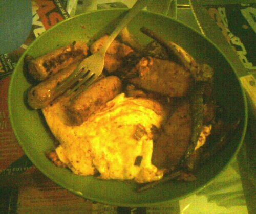 wpid 1300140734 picsay 1300140734   Eggs, turkey sausage, and  roasted veggies