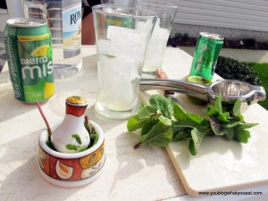 how to make a mojito 300x225   The Best of Summer Cocktails: Fresh Mint Mojitos