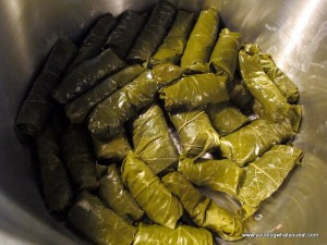 IMG 1280 300x225   Stuffed Grape Leaves (Dolmades/Dolmathes)