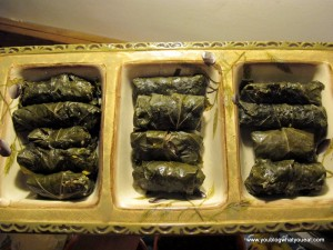 IMG 1285 300x225   Stuffed Grape Leaves (Dolmades/Dolmathes)