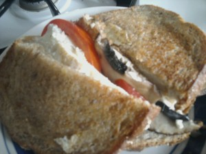 porttomeggsand 300x225   Portobello, Tomato, and Egg White Breakfast Sandwich