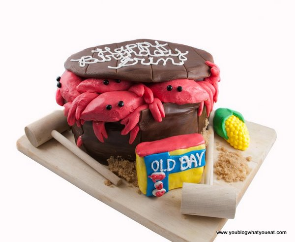 Bushel of Crabs Birthday Cake Brady Cake Company you blog what