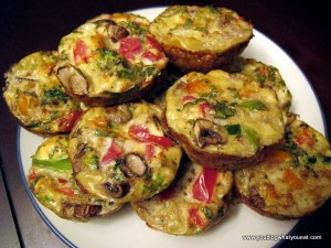IMG 3337 300x225   Vegetable Mini Quiches